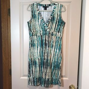Calvin Klein Jeans Sun Dress with Cross over front